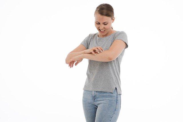 Sintomi di allergia cutanea
